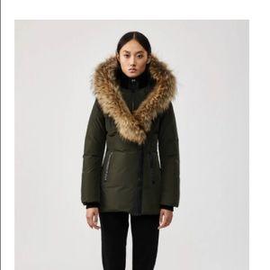 Mackage Adali winter jacket green size medium